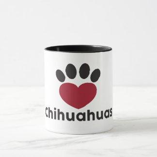 Liebechihuahuas-Tasse Tasse