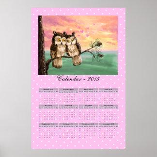 Liebeeulenkalender 2015 poster