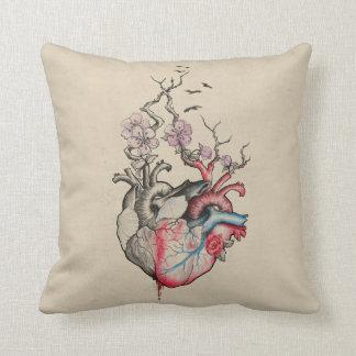 Liebekunst verschmolz anatomische Herzen mit Kissen
