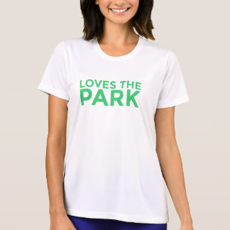Lieben das T-Stück der Park-Frauen T-Shirt