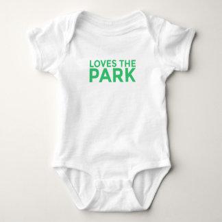 Lieben der Park-Baby-Bodysuit Baby Strampler
