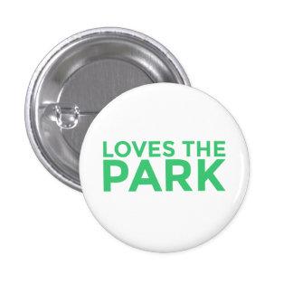 Lieben der Park-Knopf Runder Button 3,2 Cm