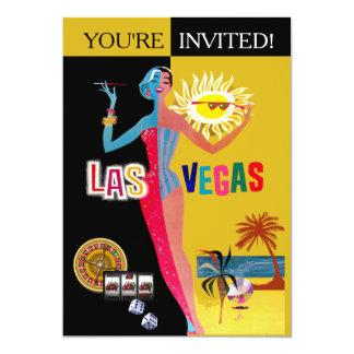Liebender Vintager Überraschungs-Geburtstag Las 12,7 X 17,8 Cm Einladungskarte