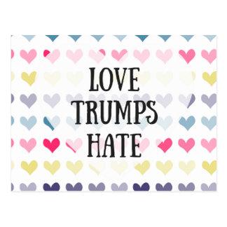 Liebetrumpfhaß. Postkarte
