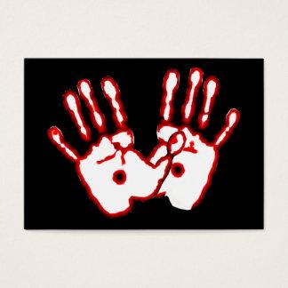 Liebevolle Hände - John-20:27 Flächen-Karten/ Visitenkarte