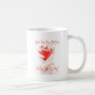 Liebevolles Herz (Valentinsgruß) Kaffeetasse
