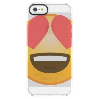 Liebevolles Lächeln Emoji Durchsichtige iPhone SE/5/5s Hülle