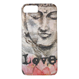 Liebezen-Buddhawatercolor-Kunst-Telefon-Kasten iPhone 8/7 Hülle