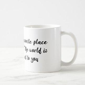 Liebezitat des Valentines Tages Kaffeetasse