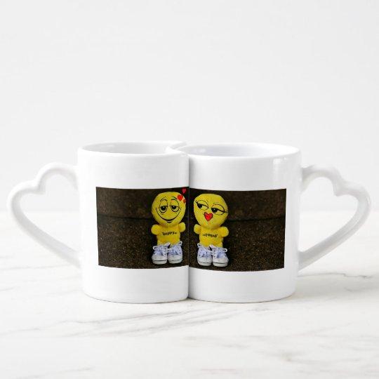 Liebhaber-Kaffee-Tassen-Set Partnertasse