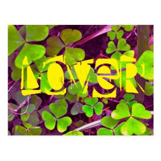 Liebhaber-Klee Postkarte