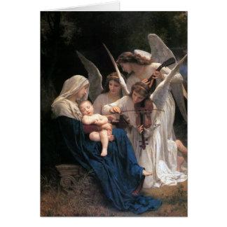 """""""Lied der Engel"""" Weihnachtsgruß-Karte Karte"""
