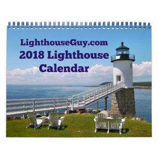 LighthouseGuy.com-Leuchtturm-Kalender 2018 Abreißkalender