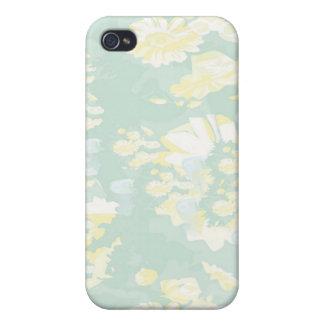 Lightshade Gelbgrün-Blumenschablone Hülle Fürs iPhone 4