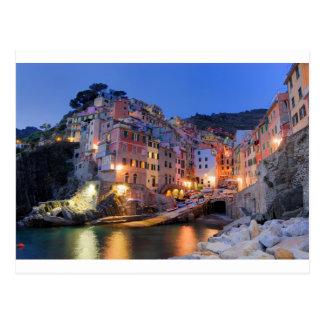 Ligurien Italien Postkarte