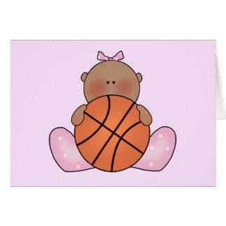 Lil Basketball-Baby - ethnisch Karte