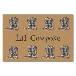 Lil Cowpoke Seidenpapier