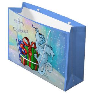 lil Drache-Schneeflocke Große Geschenktüte