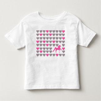 Lil Saddlebred Liebhaber-Kleinkind-T-Shirt Kleinkind T-shirt