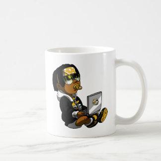 Lil tot Gelb Kaffeetasse