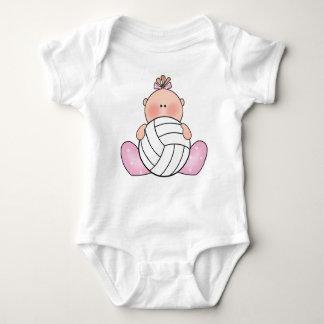 Lil Volleyball-Mädchen Baby Strampler
