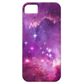 Lila abgetönte kleine Magellanic Wolke iPhone 5 Schutzhülle