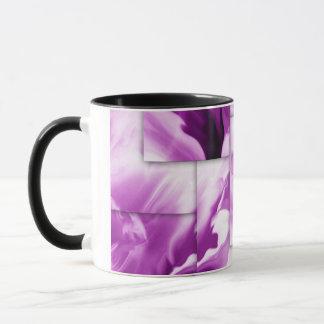 Lila-abstrakte Entwürfe Tasse