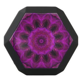 Lila abstrakter Boombot REX Schwarze Bluetooth Lautsprecher
