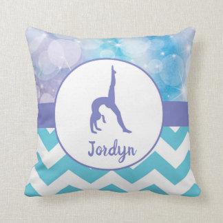 Lila aquamarines Aqua-Gymnastikthrow-Kissen Kissen