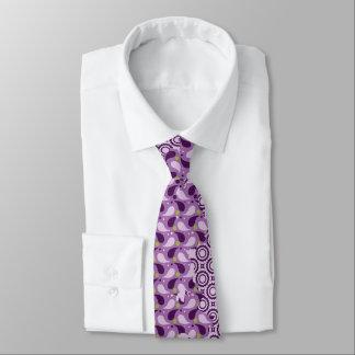 lila Batik-Krawatte Personalisierte Krawatten