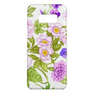 Lila Blumenkasten spaßmuster Samsungs-Galaxie S8 Case-Mate Samsung Galaxy S8 Hülle