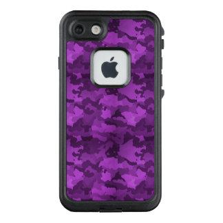 Lila Camouflage LifeProof FRÄ' iPhone 7 Hülle