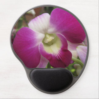 Lila Dendrobium-Orchidee Mousepad