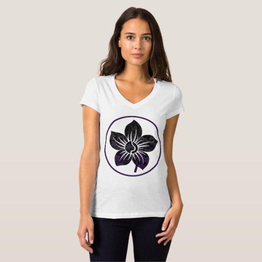 Lila Dunst T-Shirt