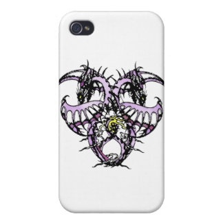 Lila Eis Dragonheart iPhone 4/4S Cover