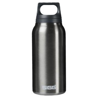 Lila Freiheits-Aluminium-Schablone Isolierte Flasche