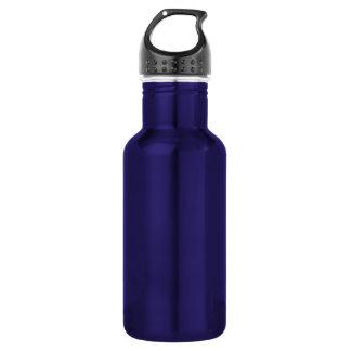 Lila Freiheits-Aluminium-Schablone Trinkflasche