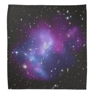 Lila Galaxie-Gruppe Kopftücher