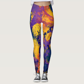 Lila Galaxie II Leggings
