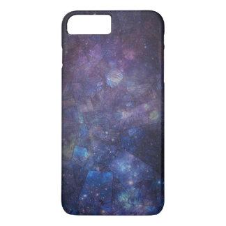 Lila Galaxie-Labradorit iPhone 7 Plusfall iPhone 8 Plus/7 Plus Hülle