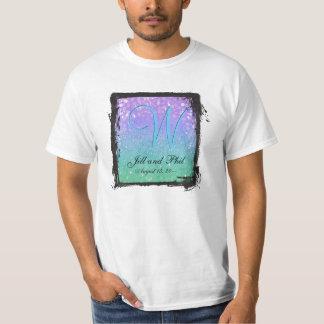 Lila Glitter-Patio-Laterneconfetti-bezauberndes Shirt