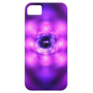 Lila glühendes Atom Hülle Fürs iPhone 5