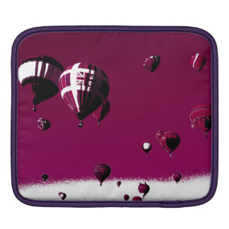 Lila Heißluft-Ballon Ipad Hülse iPad Sleeve