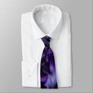 Lila Irisregular-Krawatte Bedruckte Krawatte