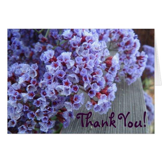 Lila Itty-Bittys danken Ihnen Karte