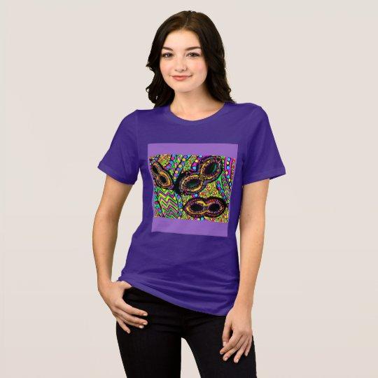 LILA KARNEVAL T-Shirt