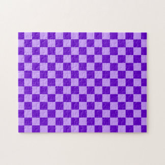 Lila Kombinations-Schachbrett durch Shirley Taylor