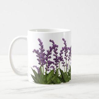 Lila Lavendel-Frühlings-Blumen-Kaffee-Tasse Kaffeetasse
