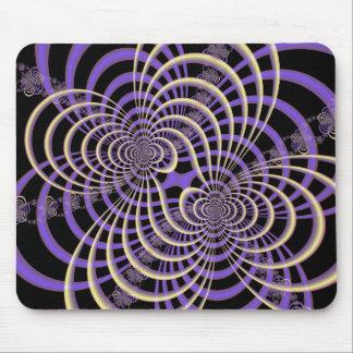 Lila Lavendel-Gitter Mousepad