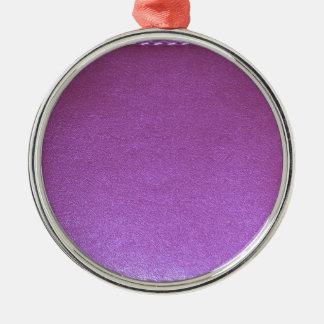 Lila lederne Endeschablone addieren BILD 99 DES Silbernes Ornament